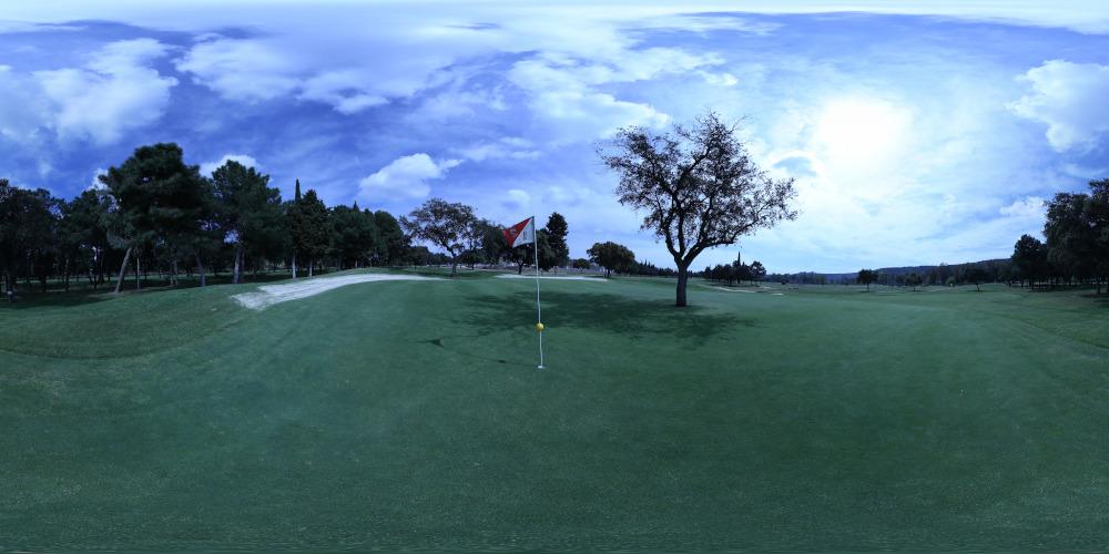 Parque Deportivo La Garza, Campo de Golf en Linares Jaén